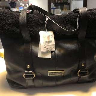 Burberry Blue Label Tote Bag Fur Japan