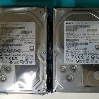 HGST Enterprise HDD 3TB x2, brand new