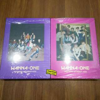 Wanna One Nothing Without You Wine / Purple Album ONLY