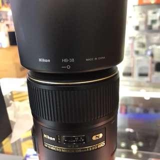 Nikon 105mm Micro AFS F2:8