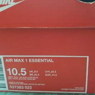 Nike air max 1 original nike