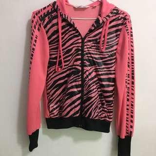 🚚 愛迪達addidas 粉紅豹紋外套