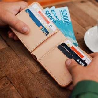 Dompet Kulit Sapi Asli/Bifold Wallet