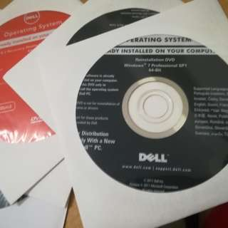 Dell Windows OS DVD