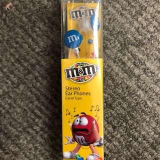 M&M 耳筒