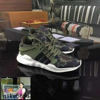 阿迪達斯迷彩男鞋EQT Support ADV運動鞋跑鞋