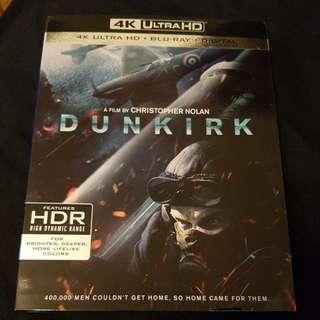 Dunkirk 4k UHD + bluray movie