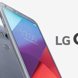 LG G6 Platinum Ice 64GB