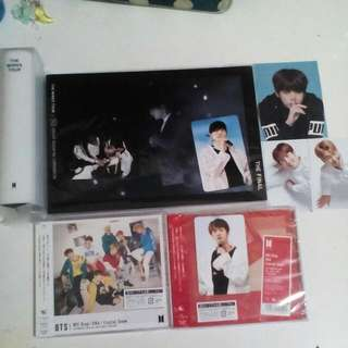 WTS BTS OFFICIAL PC AND ALBUMS