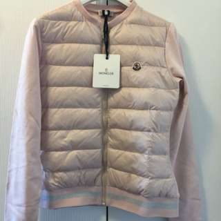 Brand new moncler 2018 pink cardigan