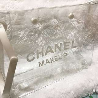 Chanel Clear Cosmetic Pouch