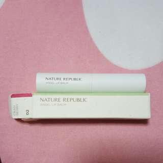 Brand New Nature Republic Angel Lip Balm