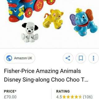 Fisherprice Animal Train
