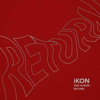 <<代購>>IKON-Return (Red/Black Ver.)