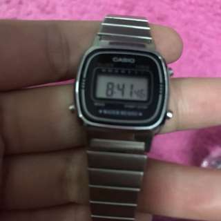 Casio Original Silver