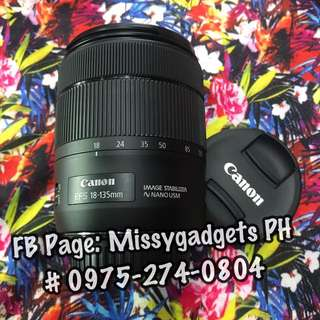 Canon efs 18-135mm IS Nano USM zoom lens (Smooth)