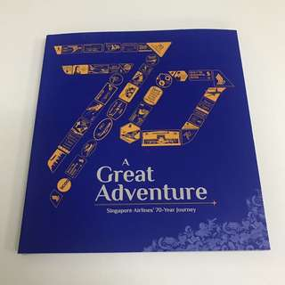 Singapore Airlines 70th Anniversary Book