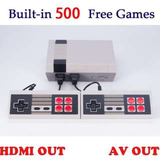 Mini NES nintendo Classic Retro HDMI 500 games TV video game console 2 players