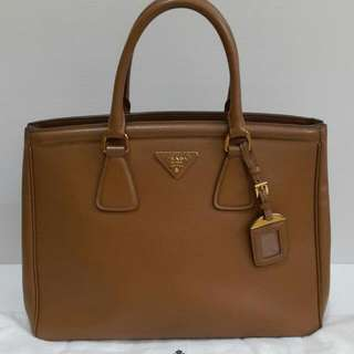 Preowned Prada 35cm comes with dust bag only (35×12×27cm)-v1