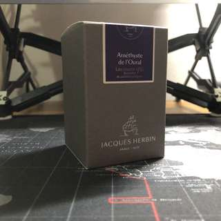 J.Herbin Amethyst de l'Oural Fountain Pen ink
