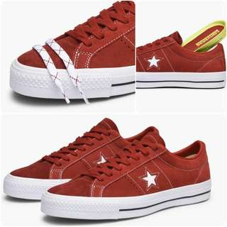 Converse One Star Pro Ox Red Size 42&43