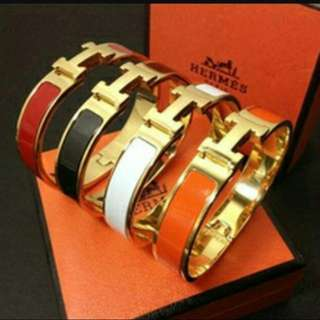 Hermes Clic H bangle bracelet jewellery