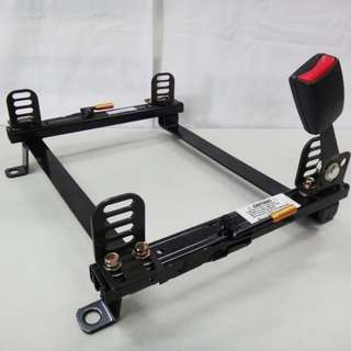 Miki railing passenger side for reclinable bucket seat
