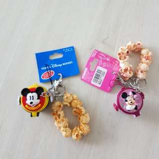 Disneyland Mickey & Minnie keychains ( A pair for $20 )