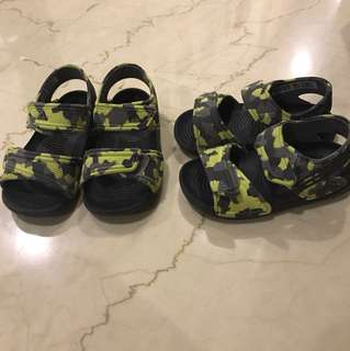 Authentic adidas sandals