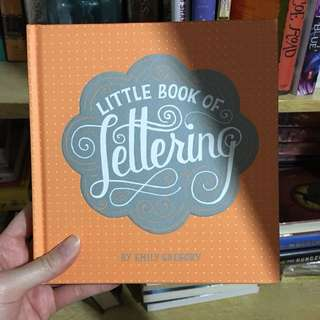 The Little Book of Lettering by Emily Gregory
