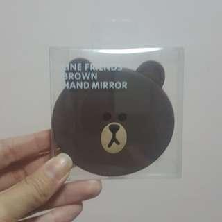 BN Brown Line Mirror @ $10