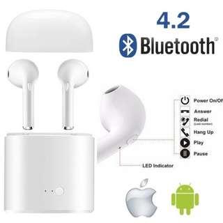 Headset Earbud Wireless Bluetooth Earphone Earpiece Airpod
