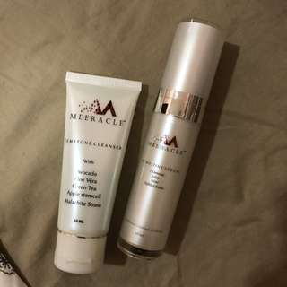 Meeracle Cleanser and Serum