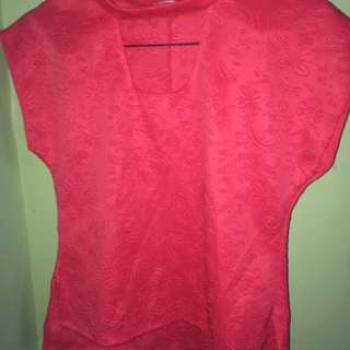 Open Chest Shirt/Blouse