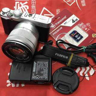 Fujifilm XA2 X-A2 mirrorless with 16-50mm lens and accessories