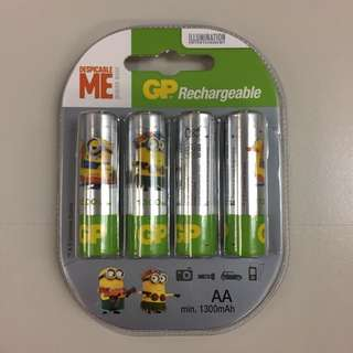 GP 可充電電池 GP Rechargeable Batteries
