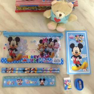 Mickey Mouse stationary goody bag on SALES