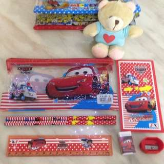 Cars stationary set goody bag