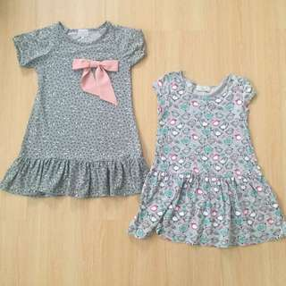 Grey Dress Set