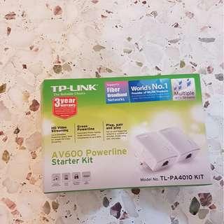Used TP Link AV Powerline kit