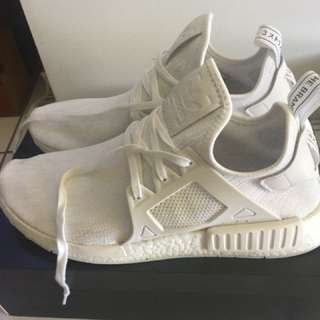 Adidas NMD XR1 tripple white size 12.5