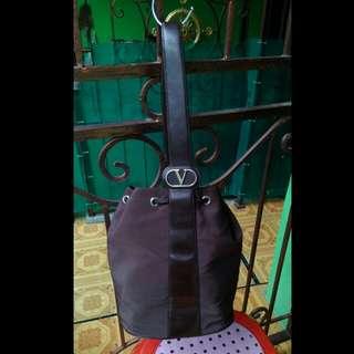 les sacs valentino brown bucket bag Ori