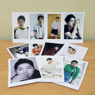 Song Joong Ki Polaroid Photo