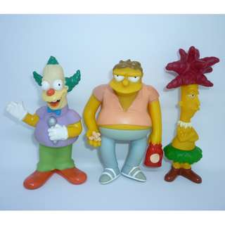 The Simpsons Burger King Series 2 Set Of (3pcs)