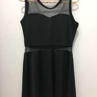Black Nets Dress