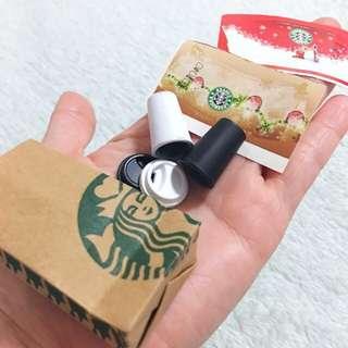 Miniature Dollhouse Collectible DIY Starbucks Lovebucks