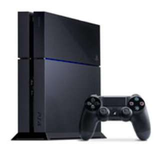 PS4 Black with extra controller