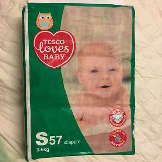 Tesco Loves Baby Pampers S size