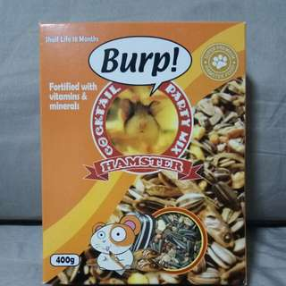 BURP HAMSTER COCKTAIL PARTY MIX 400g