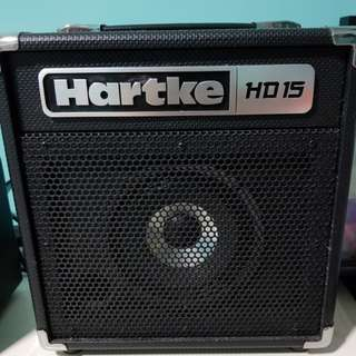 Hartke HD15 bass amp